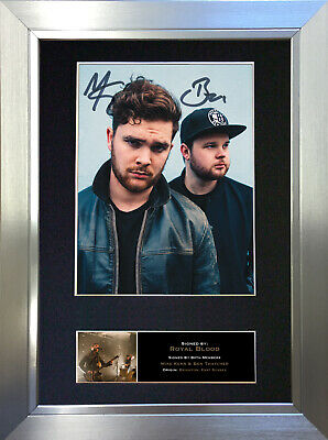 ROYAL BLOOD Signed Autograph Mounted Photo Reproduction A4 Print no523