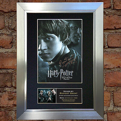 RUPERT GRINT Harry Potter Signed Autograph Mounted Repro Photo A4 Print no134