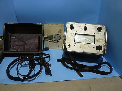 Vintage AGILENT HP 4910F OPEN FAULT LOCATOR  with Manual - Untested