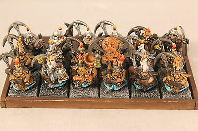 Warhammer Dwarf Miners Well Painted