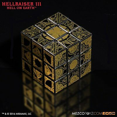New MEZCO Hellraiser 3 Le Marchand puzzle box cube From Japan F/S