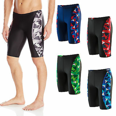 New Speedo Boy's Pro LT Echo Swimsuit Trunk Shorts Brief Jammer 22-28