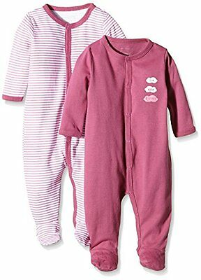 NAME IT NITNIGHTSUIT W/F NB G NOOS, Pigiama Bimbo 0-24, Multicolore (Red