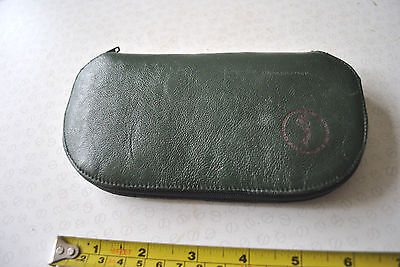 A Super Leather Fly Fishing Wallet, Made In Ireland, With A Few Flies