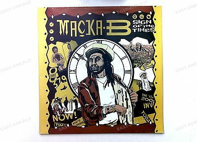 Macka B - Sign Of The Times UK LP 1986 //1