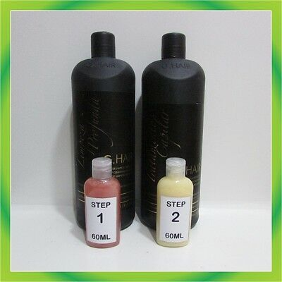KIT 120ml INOAR G.HAIR MOROCCAN BRAZILIAN KERATIN TREATMENT + FREE SHIPPING