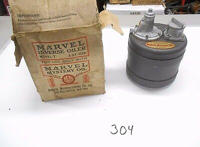 NOS Marvel Mystery Oil Inverse Oiler Model T2 2qt