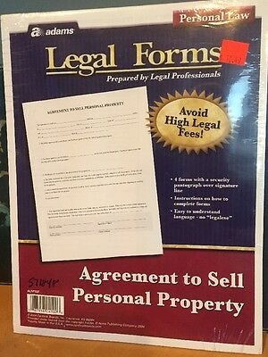 Adams Personal Legal Forms And Agreements 34 99 Picclick