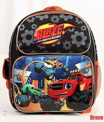 "New Blaze And The Monster Machines 12"" Toddler Backpack Medium Backpack Book Bag"