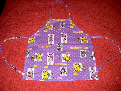 Wow Wow Wubbzy Purple Apron Smock Toddler Size 2T 3T 4T 5T NEW Arts & Crafts