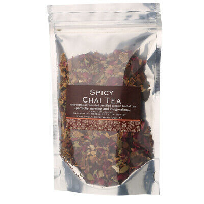 NEW Organic Merchant Spicy Chai Tea Sachet