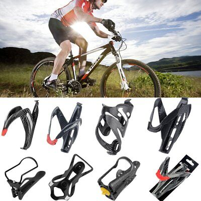 Multi-Choice Cycling Bike Outdoor Carbon Fiber Water Bottle Drinks Holder Cages