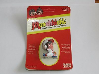 Vintage New 1974 Parker Monchhichi J6500 Baseball Pitcher Sealed