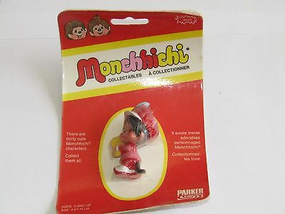 Vintage New 1974 Parker Monchhichi J6500 Symbal Player Sealed