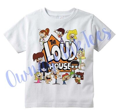 Loud House Custom t-shirt, Tee, Toddler, Youth, Adult sizes Available