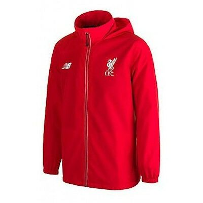 OFFICIAL NEW BALANCE LIVERPOOL TRAINING JACKET RED YOUTH SMALL (Size 8)