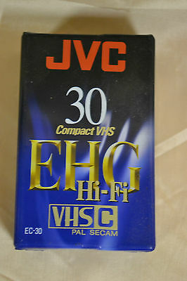JVC EC-30 EHG Hi Fi quality Made in Japan - NEW - Compact VHS