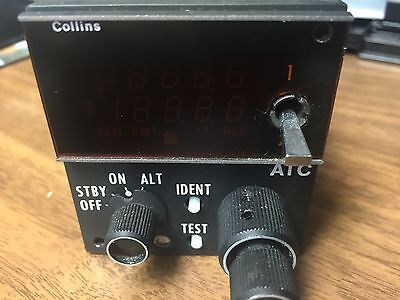 2 Collins TDR94 PN: 622-9352-005,  and 1 CTL92 PN: 622-6523-208 Mode S Guarantee