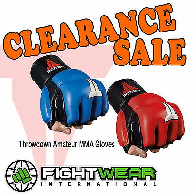 Throwdown Amateur MMA Gloves