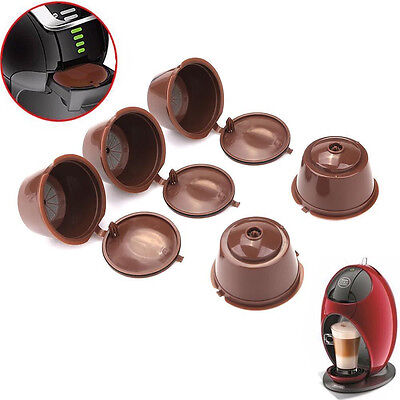 Coffee Capsules for Dolce Gusto Reusable Refillable Brewers Nescafe Cup Filter