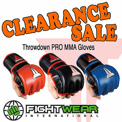 Throwdown Pro MMA Gloves