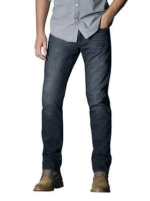 NEW Jeanswest Slim Straight Jeans Bold Tinted Blue Jeans