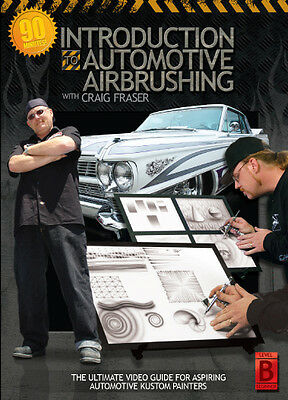 Airbrush Action DVD - Introduction To Automotive Airbrushing with Craig Fraser