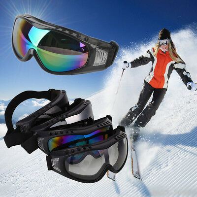 Windproof Snowboard Anti-Fog Sunglasses Ski Snow Goggles UV Sun Glasses Eyewear