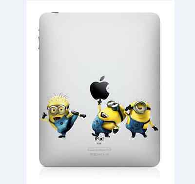 Despicable Me iPad 1/2/3/4 Vinyl Sticker Skin Decal Back Cover