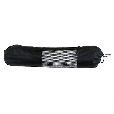 New Portable Yoga Pilates Mat Nylon Bag Carrier Mesh Case Adjustable Strap