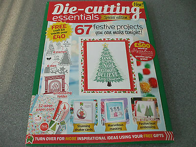 die-cutting essentials special edition  [2016]   dies/embossing folder/stamps +