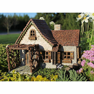Miniature Dollhouse FAIRY GARDEN - Ladybug House - Accessories