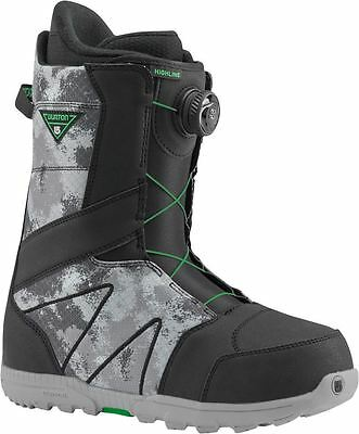 Burton Highline BOA 2017 Mens Snowboard Boots Black / Gray