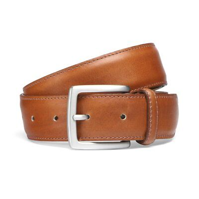 Cheaney Chestnut Belt with Silver Buckle