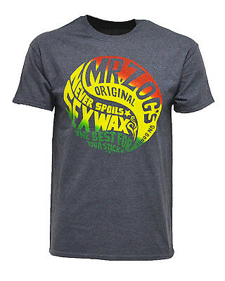 Sex Wax Haight Mens T-Shirt in Navy - On Sale Now