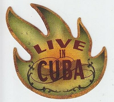Audioslave Live in Cuba RARE promo sticker '05