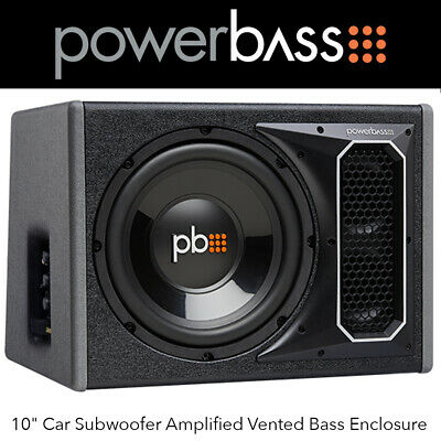 "Vibe Blackair 8"" PowerBox Radiator Package Deal 1200W Subwoofer & Amplifier Deal"
