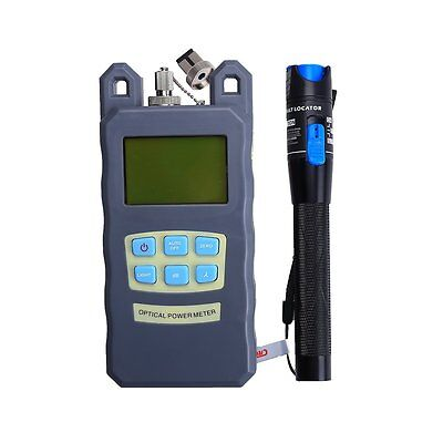 1MW FTTH Fiber visual fault locator tester Optical Power Meter FC SC -70~+10dBm