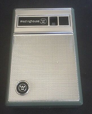 Westinghouse 6 Transistor Radio Gem Mint New W/ Case h-707p6gpa Beauty rare
