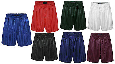 Boys & Girls P.e Shorts * Shadow Stripe * Sports * Casual * Children & Adults *