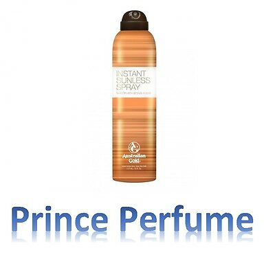 AUSTRALIAN GOLD INSTANT SUNLESS SPRAY DEVELOPS RICH BRONZE COLOR - 177 ml