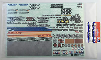 Tamiya 54630 Sponsor Sticker Set (For Off-Road Car) NIP