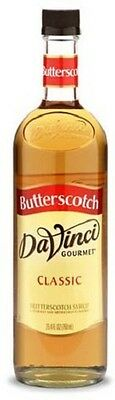 DaVinci Classic BUTTERSCOTCH Syrup 750ML