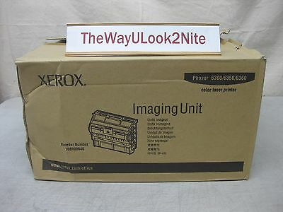 Xerox 6350 6360 Imaging Unit 108R00645 New Genuine Open Dented Box / Sealed Bag