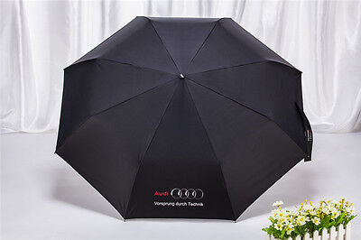 Folding Umbrella One Key Open Close Portable Automatic Telescopic For AUDI OEM