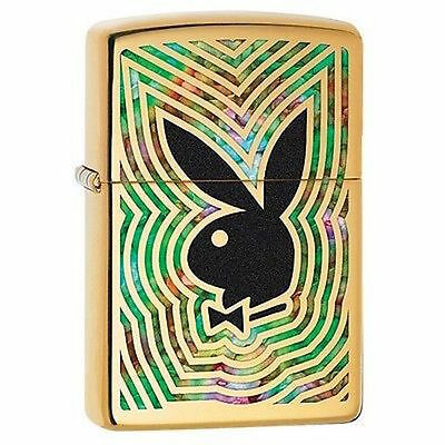 Zippo Windproof Playboy Lighter With Fusion Playboy Bunny, 29252, New In Box