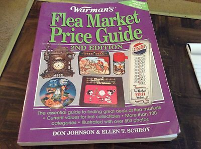 Warman's flea market price guide 2nd edition • CAD $13.77