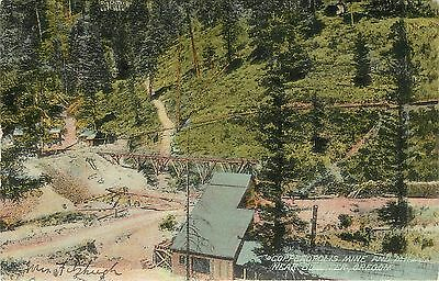 Vintage Postcard Copperopolis Mine and Mill Sumpter OR Baker County