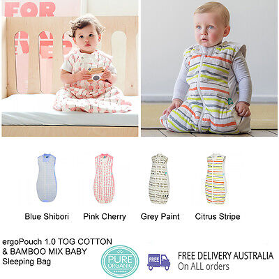 ergoPouch 1.0 TOG COTTON & BAMBOO MIX BABY Sleeping Bag
