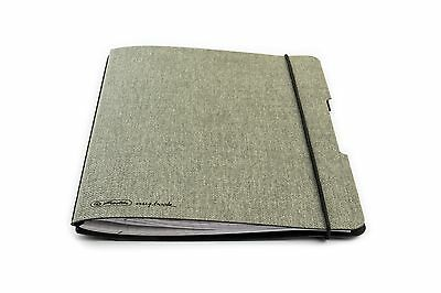 Herlitz my.book flex A5 Canvas style single notebook cover with 1 graph refill